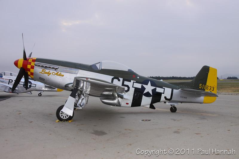 1945 North American P-51D, N151MW