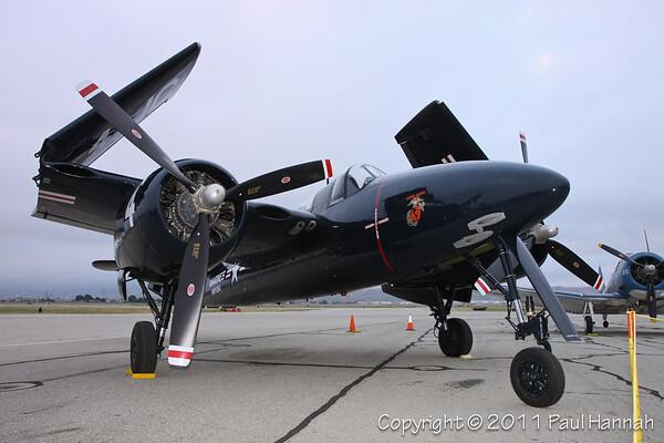 1945 Grumman F7F-3 Tigercat, NX909TC