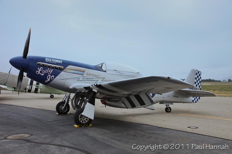 1944 North American P-51D, N327DB
