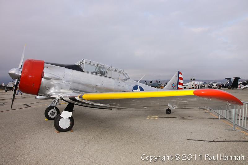 North American SNJ-5, N2550