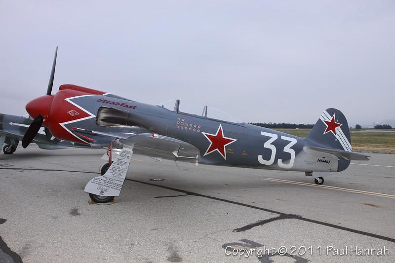 Yakovlev Yak-3U/R-200, N3395G