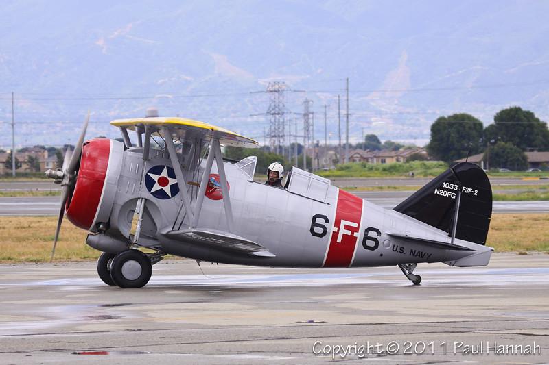 1938 Grumman F3F Flying Barrel, N20FG