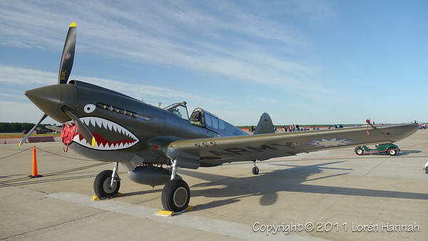 1941 Curtiss Wright P-40E, N1941P