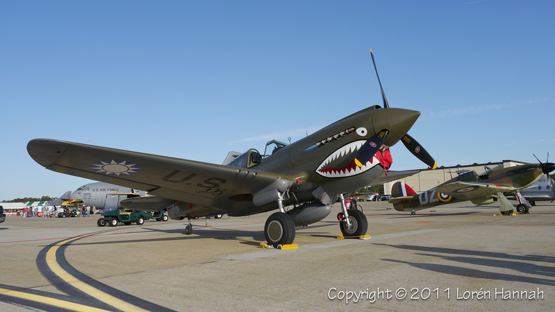1941 Curtiss Wright P-40E, N1941P-1