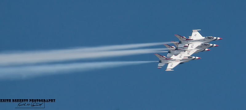 Air Force Thunderbirds<br /> Practice Session<br /> 5/29/15<br /> Aurora, CO