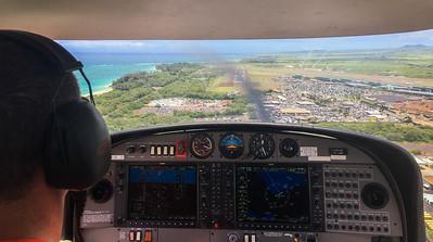 Short Final into Maui.