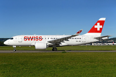 Swiss International Air Lines Airbus A220-100 (Bombardier CS100 - BD-500-1A10) HB-JBA (msn 50010) ZRH (Rolf Wallner). Image: 934499.