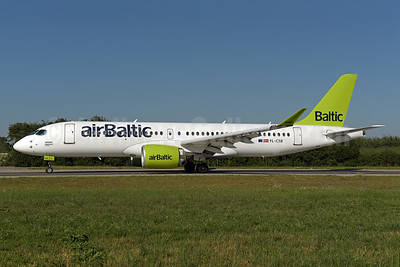 airBaltic Airbus A220-300 (Bombardier CS300 - BD-500-1A11) YL-CSB (msn 55004) ZRH (Rolf Wallner). Image: 942996.