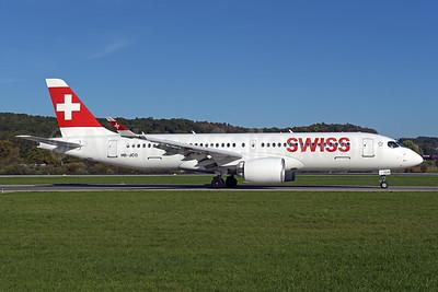 Swiss International Air Lines Airbus A220-300 (Bombardier CS300 - BD-500-1A11) HB-JCO (msn 55033) ZRH (Rolf Wallner). Image: 944017.
