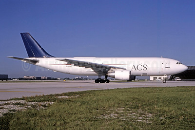 ACS-Air Cargo Service (JHM Cargo Expreso) Airbus A300B4-203 (F) N59140 (msn 140) MIA (Bruce Drum). Image: 105326.