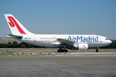Air Madrid Airbus A310-304 D-AIDH (msn 527) MAD (Ariel Shocron). Image: 913641.