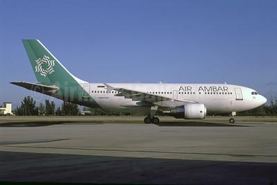 Air Ambar Airbus A310-324 VR-BMU (HI-659CA) (msn 594) (Aero Cancun colors) OPF (Bruce Drum). Image: 105214.