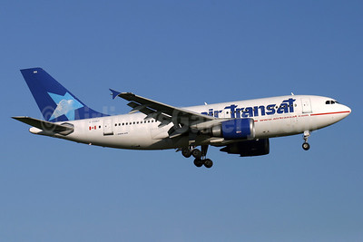 Air Transat Airbus A310-308 C-FDAT (msn 658) LGW (Antony J. Best). Image: 902809.