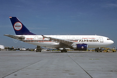 Alyemda Yemen Airlines Airbus A310-304 F-ODSV (msn 474) FRA (Christian Volpati Collection). Image: 930307.