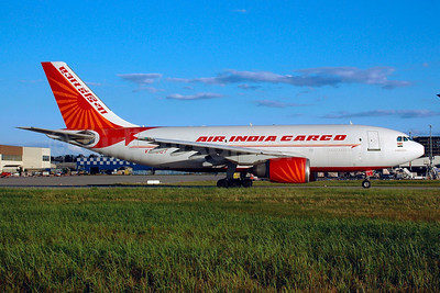 Air India Cargo Airbus A310-304 (F) VT-EQT (msn 544) FRA (Bernhard Ross). Image: 900256.