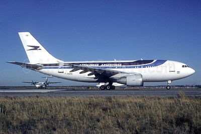 Aerolineas Argentinas Airbus A310-324 F-OGYQ (msn 453) JFK (Jacques Guillem Collection). Image: 939340.