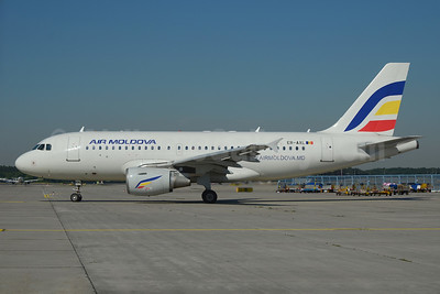 The first Airbus A319 for Air Moldova