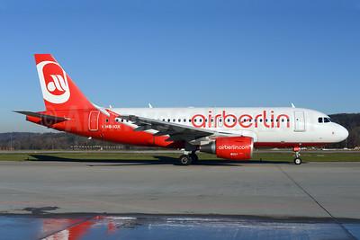Airberlin (airberlin.com) (Belair Airlines) Airbus A319-112 HB-IOX (msn 3604) ZRH (Rolf Wallner). Image: 921352.