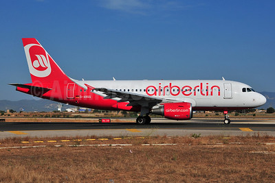 Airberlin (airberlin.com) Airbus A319-112 D-ABGQ (msn 3700) PMI (Ton Jochems). Image: 903664.