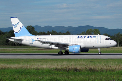 Aigle Azur Transport Aeriens (2nd) Airbus A319-111 F-HBAL (msn 2870) BSL (Paul Bannwarth). Image: 909579.