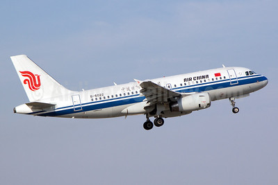 Air China Airbus A319-132 B-6022 (msn 2000) PVG (Yuji Wang). Image: