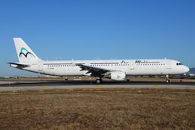 Air Mediterranee Airbus A321-111 F-GYAP (msn 517) PMI (Ton Jochems). Image: 912783.