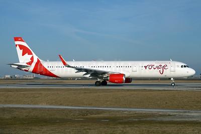 Air Canada rouge (Air Canada) Airbus A321-211 WL C-FJOU (msn 6873) YYZ (TMK Photography). Image: 932390.