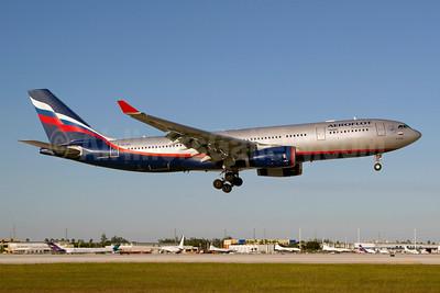 Aeroflot Russian Airlines Airbus A330-243 VQ-BBG (msn 1047) MIA (Luimer Cordero). Image: 909760.
