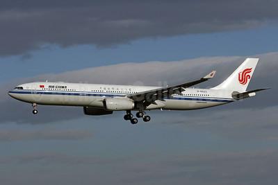 Air China Airbus A330-343 B-6523 (msn 1187) PEK (Michael B. Ing). Image: 910818.