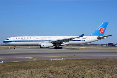 China Southern Airlines Airbus A330-343 B-6500 (msn 954) AMS (Ton Jochems). Image: 911604.