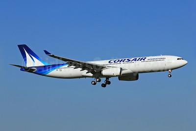 Corsair International Airbus A330-343 F-WWCZ (F-HSKY) (msn 1359) TLS (Eurospot). Image: 909593.
