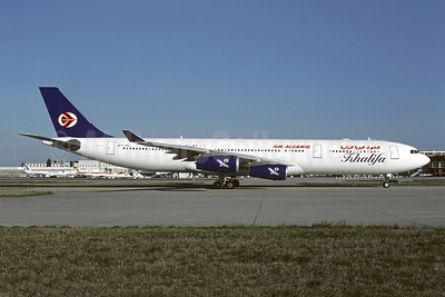 Leased from Khalifa Airways in July 2002
