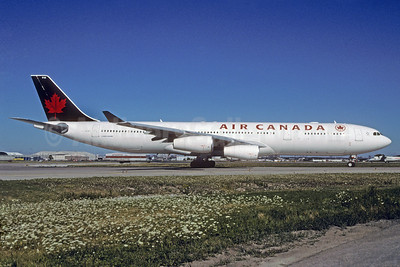 Air Canada Airbus A340-313 C-GDVZ (msn 278) YYZ (TMK Photography). Image: 912090.