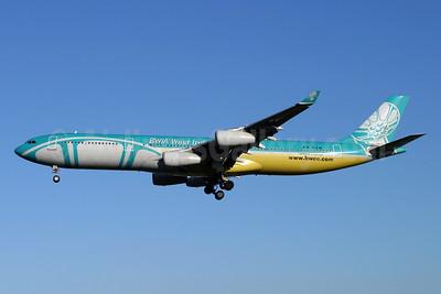 BWIA West Indies Airbus A340-313 9Y-TJN (msn 093) LHR (Antony J. Best). Image: 927090.