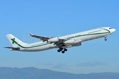 Air X Charter Airbus A340-313 9H-BIG (msn 374) BSL (Paul Bannwarth). Image: 939867.