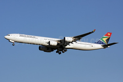 South African Airways Airbus A340-642 ZS-SNB (msn 417) IAD (Brian McDonough). Image: 903761.