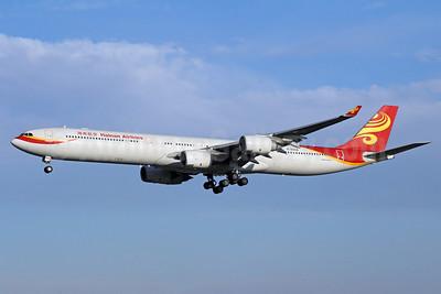 Hainan Airlines Airbus A340-642 B-6508 (msn 436) PEK (Michael B. Ing). Image: 913222.