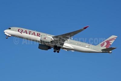 Qatar Airways Airbus A350-941 A7-ALD (msn 010) PHL (Jay Selman). Image: 402852.