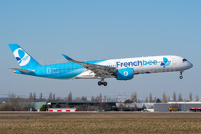 French Bee Airbus A350-941 F-HREU (msn 005) ORY (Wingnut). Image: 946107.