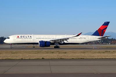 Delta Air Lines Airbus A350-941 N501DN (msn 115) SEA (Michael B. Ing). Image: 948034.