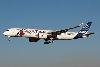 Qatar Airways (Airbus) Airbus A350-941 F-WZNW (msn 004) TLS (Olivier Gregoire). Image: 922316.