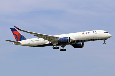 Delta's first Airbus A350, became N501DN - Best Seller