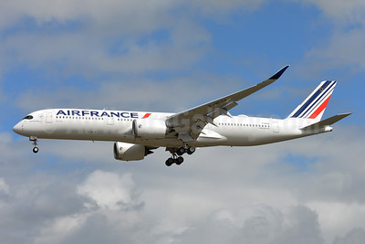 First A350-900, delivered on September 27, 2019