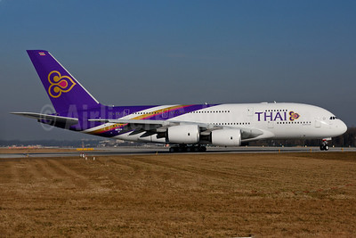 Thai Airways International Airbus A380-841 F-WWSE (HS-TUD) (msn 122) XFW (Gerd Beilfuss). Image: 911343.