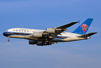 China Southern Airlines Airbus A380-841 B-6138 (msn 054) PEK (Xiangrui Huang). Image: 911085.