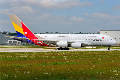 Asiana Airlines' first Airbus A380