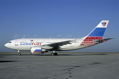 Aeroflot Russian International Airlines Airbus A310-308 F-OGQR (msn 593) CDG (Christian Volpati). Image: 908226.