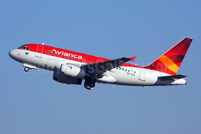 Avianca (Brazil) (OceanAir Linhas Aereas) Airbus A318-121 PR-AVL (msn 3214) GRU (Marcelo F. De Biasi). Image: 907663.