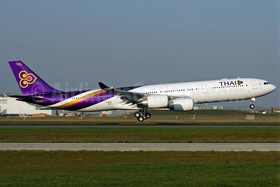Thai Airways International Airbus A340-541 F-WWTN (HS-TLA) (msn 624) TLS. Image: 902430.