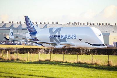 Airbus Beluga XL3 Hawarden 11-01-21